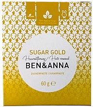 Парфюмерия и Козметика Захарна паста за депилация - Ben & Anna Sugar Gold Hair Removal