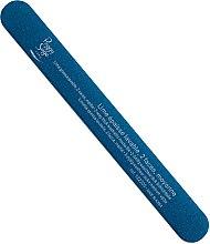Парфюмерия и Козметика Двустранна пиличка за нокти, 240/240, синя - Peggy Sage