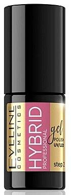 Хибриден лак за нокти - Eveline Cosmetics Hybrid Professional — снимка N1