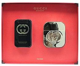 Парфюми, Парфюмерия, козметика Gucci Guilty - Комплект (edt/50ml + b/lot/100ml)