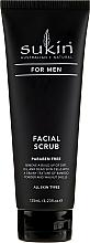 Парфюмерия и Козметика Скраб за лице за мъже - Sukin For Men Facial Scrub
