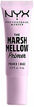 Парфюмерия и Козметика Изсветляваща основа за лице - NYX Professional The Marshmellow Primer (мини)