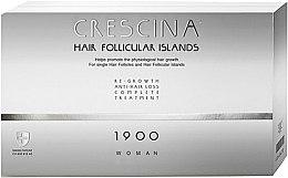 Парфюмерия и Козметика Комплексна терапия против косопад за жени 1900 - Labo Crescina Hair Follicular Island Re-Growth Anti-Hair Loss Complete Treatment 1900 Woman
