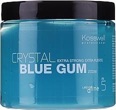 Парфюмерия и Козметика Текстуриращ гел за коса с дълготрайна фиксация - Kosswell Professional Dfine Crystal Blue Gum