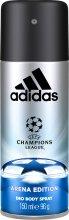Парфюми, Парфюмерия, козметика Adidas UEFA Champions League Arena Edition Deo Body Spray - Спрей дезодорант