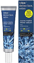 Парфюмерия и Козметика Нощна маска за лице - Tolpa Dermo Face Sebio Night Blocker Sebum Mask