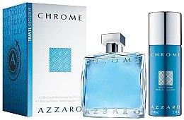 Парфюмерия и Козметика Azzaro Chrome - Комплект (edt/100ml + deo/150ml)