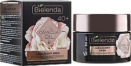 Парфюми, Парфюмерия, козметика Хидратиращ крем-концентра за лице против бръчки 40+ - Bielenda Camellia Oil Luxurious Anti-Wrinkle Cream 40+