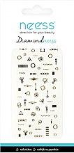 Парфюми, Парфюмерия, козметика Декориращи лепенки за нокти, 3709 - Neess Diamondneess