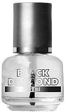 Парфюмерия и Козметика Укрепващ заздравител за нокти - Silcare Black Diamond