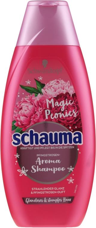 Шампоан за коса - Schwarzkopf Schauma Magic Peonies Aroma Limited Edition Shampoo — снимка N1