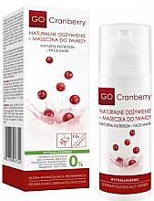 Парфюмерия и Козметика Почистваща маска за лице - GoCranberry Natural Nutrition Facial Mask
