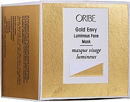 Парфюмерия и Козметика Маска за лице - Oribe Gold Envy Luminous Face Mask