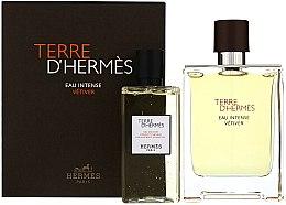 Парфюмерия и Козметика Terre D'Hermes Eau Intense Vetiver - Комплект (парф. вода/100ml + душ гел/100ml)