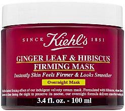 Парфюми, Парфюмерия, козметика Нощна маска за еластична и гладка кожа - Kiehl`s Ginger Leaf & Hibiscus Firming Mask