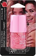 Парфюмерия и Козметика Брокат за лице и тяло - Artlook Body & Make Up Glitter
