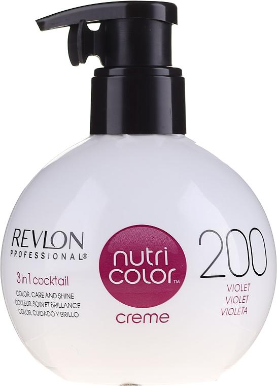 Тониращ балсам за коса - Revlon Professional Nutri Color Creme