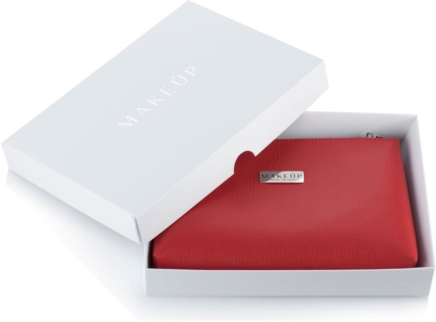 "Козметичен червен несесер в подаръчна кутия ""Lucky"" - MakeUp"