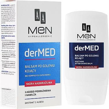 Балсам след бръснене за много чувствителна кожа - AA Cosmetics Men derMED After-Shave Balm — снимка N1
