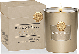 Парфюми, Парфюмерия, козметика Ароматна свещ - Rituals Private Collection Imperial Rose Scented Candle