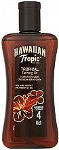 Парфюмерия и Козметика Спрей масло за тен - Hawaiian Tropic Tropical Tanning Oil Coconut SPF 4