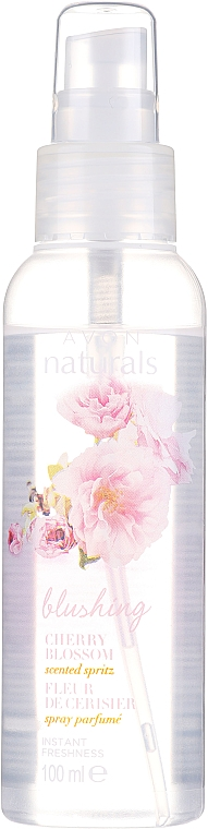 "Спрей за тяло ""Вишнев цвят"" - Avon Naturals Body Spray"