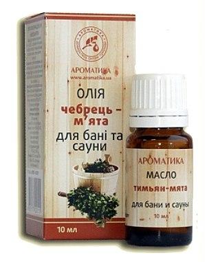 """Етерично масло за вана и сауна """"Маточина-мента"""" - Ароматика — снимка N1"""