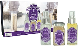 Парфюмерия и Козметика La Sultane de Saba Musk Incense Vanilla - Комплект (спрей/50ml + скраб/100ml + масло/50ml)