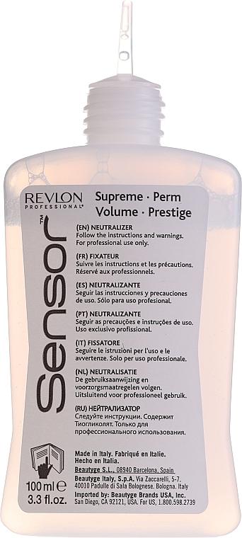 Продукт с химическо покритие при боядисана коса - Revlon Professional Sensor Perm-Supreme — снимка N9