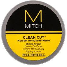 Парфюмерия и Козметика Матиращ крем за оформяне със средна фиксация - Paul Mitchell Mitch Clean Cut Styling Cream