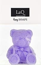 """Парфюмерия и Козметика Ръчно изработен натурален сапун """"Мече"""" с аромат на лавандула - LaQ Happy Soaps Natural Soap"""