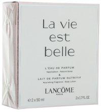 Парфюми, Парфюмерия, козметика Lancome La Vie Est Belle - Комплект (edp/50ml + b/l/50ml)