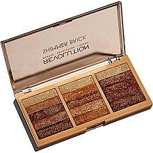 Парфюми, Парфюмерия, козметика Палитра шимър за лице - Makeup Revolution Shimmer Brick Palette