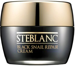 Парфюми, Парфюмерия, козметика Крем за лице - Steblanc Black Snail Repair Cream