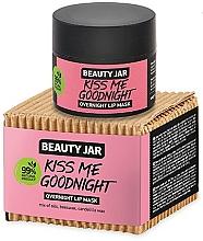 Парфюмерия и Козметика Нощна маска за устни - Beauty Jar Kiss Me Goodnight Overnight Lip Mask