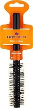 Парфюмерия и Козметика Четка за коса, 2496, черно-оранжева - Top Choice