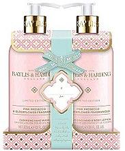 Парфюми, Парфюмерия, козметика Комплект за тяло - Baylis & Harding Prosecco & Elderflower (душ гел/300ml +лосион за тяло/300ml)