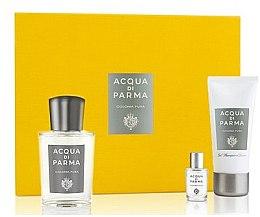 Парфюмерия и Козметика Acqua Di Parma Colonia Pura - Комплект (одеколон/100ml + одеколон/5ml + душ гел/50ml)