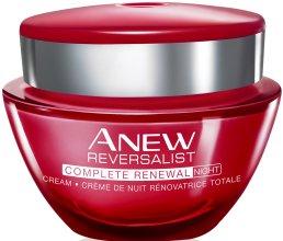 """Парфюми, Парфюмерия, козметика Нощен крем за лице 35+ """"Обновяване"""" - Avon Anew Reversalist Complete Renewal Night Cream"""