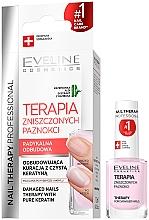 Парфюмерия и Козметика Балсам за нокти - Eveline Cosmetics Nail Therapy Professional Therapy For Damage Nails