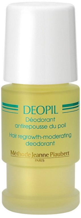 Рол-он дезодорант, забавящ растежа на космите - Methode Jeanne Piaubert Deopil Roll-on Alcohol- and Fragrance-Free Antiperspirant — снимка N1