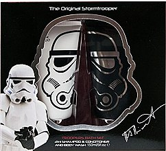 Парфюми, Парфюмерия, козметика Комплект - Disney The Original Stormtrooper Star Wars Bath Set (shm&cond/150ml + sh/gel/150ml)