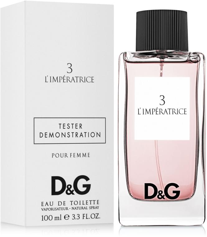 Dolce & Gabbana Anthology L`Imperatrice 3 - Тоалетна вода (тестер с капачка)  — снимка N1