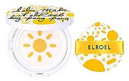 Парфюмерия и Козметика Слънцезащитен кушон - Elroel Pang Pang Big Sun Cushion SPF 50+