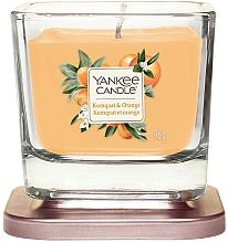 Парфюмерия и Козметика Ароматна свещ - Yankee Candle Elevation Kumquat & Orange