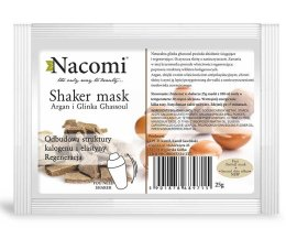 Парфюми, Парфюмерия, козметика Алгинатна маска за лице с глина - Nacomi Shaker Mask