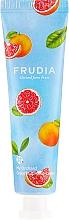 Парфюмерия и Козметика Подхранващ крем за ръце с екстракт от грейпфрут - Frudia My Orchard Grapefruit Hand Cream