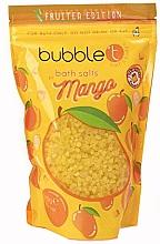 """Парфюмерия и Козметика Соли за вана """"Манго"""" - Bubble T Cosmetics Bath Salt Mango"""
