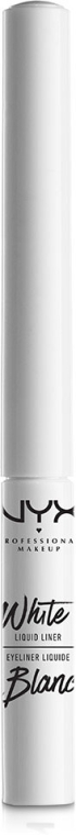 Течна очна линия - NYX Professional Makeup White Liquid Liner