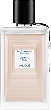 Парфюмерия и Козметика Lalique Oriental Zinc - Парфюмна вода